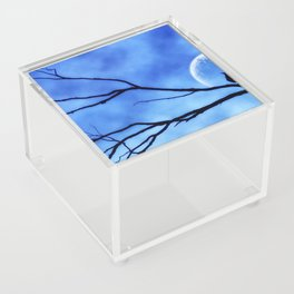 Blue Moon Bird v2 Acrylic Box