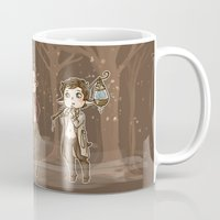 guardians Mugs featuring Forest Guardians by Diminuel