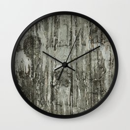 Vintage Chippy Painted Door Wall Clock