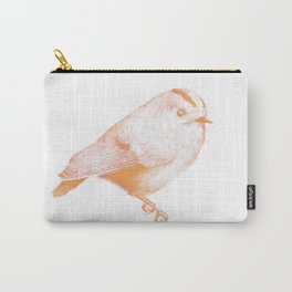 Goldcrest (Regulus regulus) - orange and yellow Carry-All Pouch