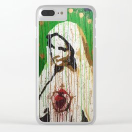 Our Lady of Roosevelt Island Clear iPhone Case