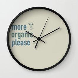 more organic Wall Clock