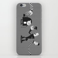 police iPhone & iPod Skins featuring Police Duality by Haragos