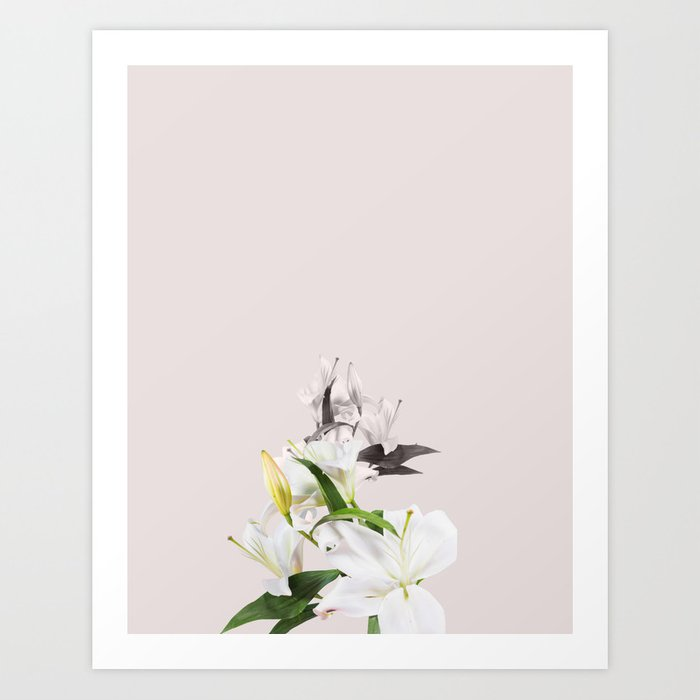 Tropical white flowers society6 decor buyart art print by tropical white flowers society6 decor buyart art print mightylinksfo