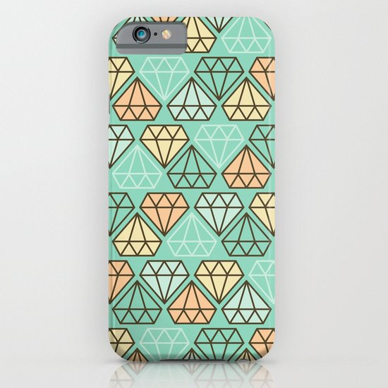 Diamonds are forever iPhone & iPod Case