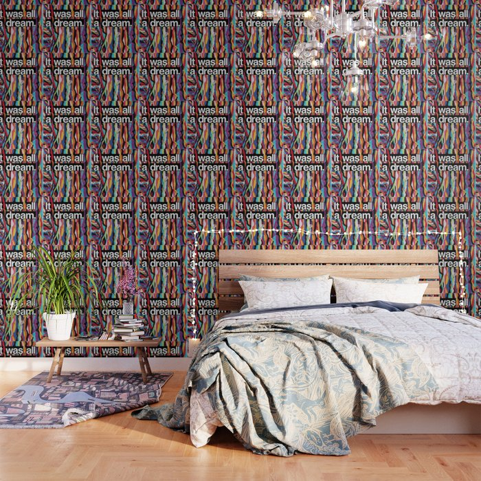 It Was All A Dream Biggie Smalls Inspired Hip Hop Design Wallpaper By Andyhendren