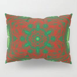 Christmas Stars Kaleidoscopes Pillow Sham