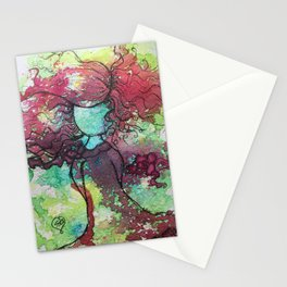 Carefree and Wild Stationery Cards