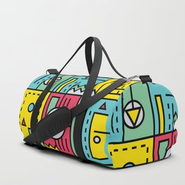 Play on words | Graphic jam Duffle Bag
