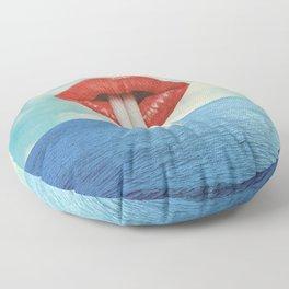 Bébete el mar Floor Pillow