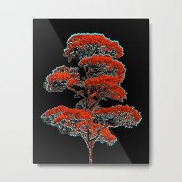 Tree Artwork Illustration Metal Print