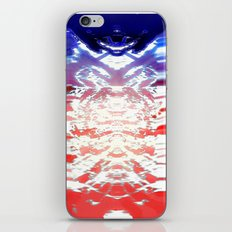 Absolution- QuakeWake (in HyperBluePink) iPhone & iPod Skin