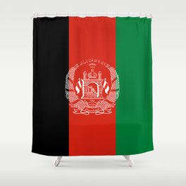 Flag: Afghanistan Shower Curtain