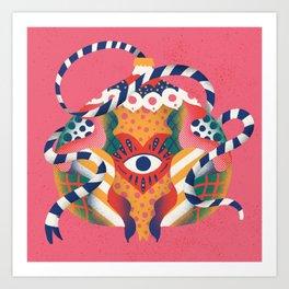 Pomme Eye Art Print