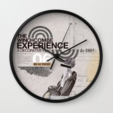 Additional poster design- The Wichcombe Experience Wall Clock