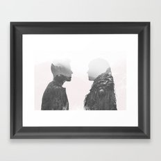 One in the Same Framed Art Print