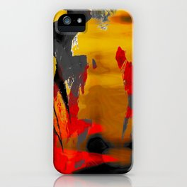 Le Volcan iPhone Case