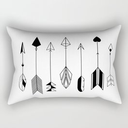 Be Brave Little Arrow Rectangular Pillow