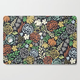 Dark Garden Cutting Board