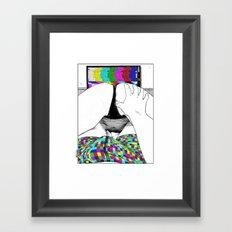 asc 511 - L'extatique (The ecstatic) Framed Art Print