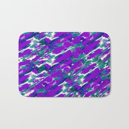 Ink Streaks Bath Mat