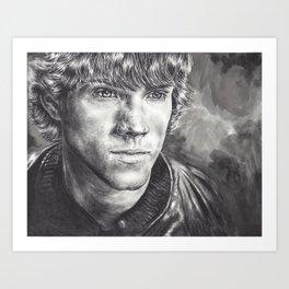 Sam Winchester Art Print