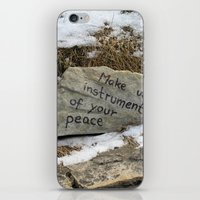 poland iPhone & iPod Skins featuring Peace in Poland by Anything et Everything by Nina L.