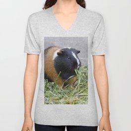 Lovely Guinea Pig Unisex V-Neck