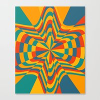 trippy Canvas Prints featuring Trippy by Ashley