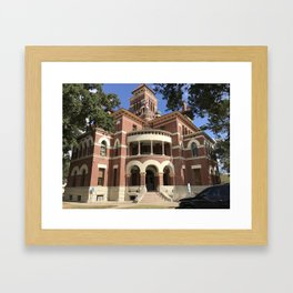 Gonzales County Courthouse Framed Art Print