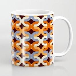 Interlocking ellipses pattern Coffee Mug