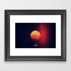 Cosmos Ares /Mars Framed Art Print