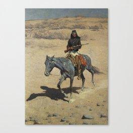 "Frederic Remington Western Art ""Apache Scout"" Canvas Print"