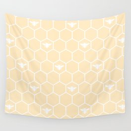 Honey Bee Mine Wall Tapestry