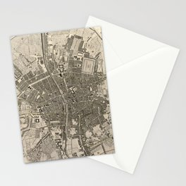 A plan of the city of Dublin - 1797 Stationery Cards