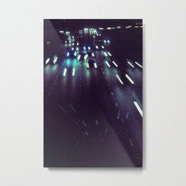(purp)xSTREETZ Metal Print