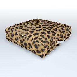 Cheetah Print Outdoor Floor Cushion