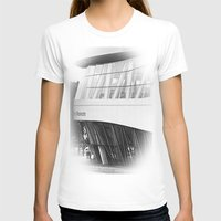 mercedes T-shirts featuring MERCEDES-BENZ MUSEUM by GL-ART-PHOTOGRAPHY