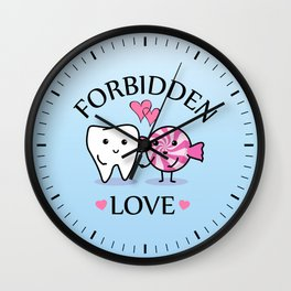 Forbidden Love Wall Clock