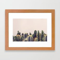 Cactus Party Framed Art Print