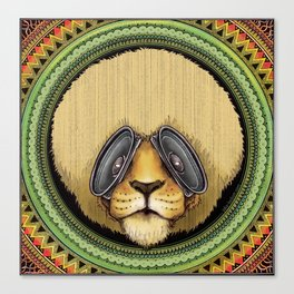 Ital Lion Canvas Print