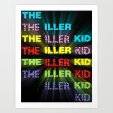 The Iller Kid Art Print