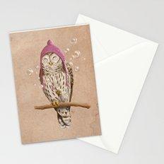 Happy Owl Stationery Cards