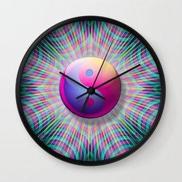 Taijitu Fission Wall Clock