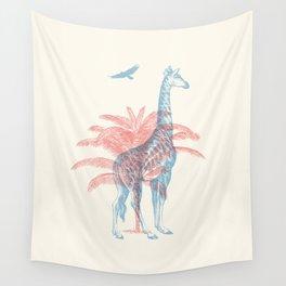 Giraffe - Where they Belong Wall Tapestry