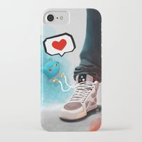 sneaker iPhone & iPod Cases featuring sneaker Love by Dominik Gottherr