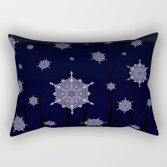 Winter Woodland Wonder Rectangular Pillow