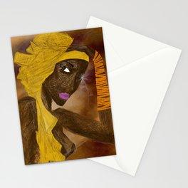 LA MODELO AFRICANA by Maricela del Rio Stationery Cards