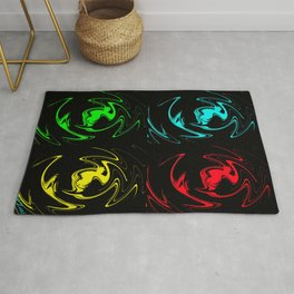 Abstract Perfection 41 Pop Art Rug