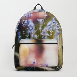 Field of Lavender 02 Backpack